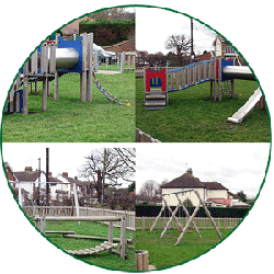 Playground at Abridge Village Hall
